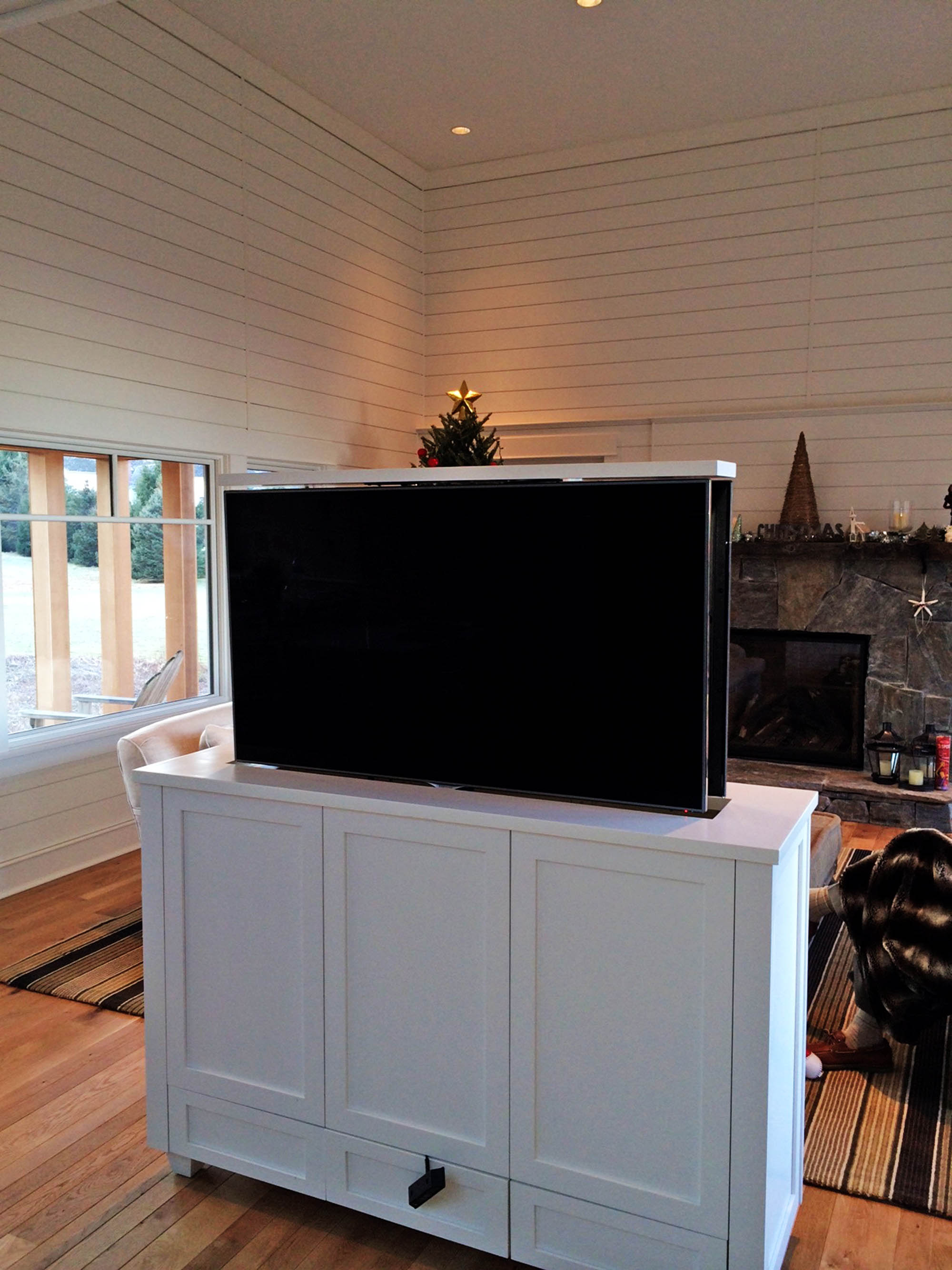 M Series 385 Pop Up Tv Lift Activated Decor